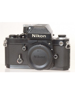 Nikon-Nikon F2 A Solo Corpo Nera Testata e Funzionante 100%-10