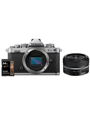 Nikon-FOTOCAMERA NIKON Z FC + NIKKOR Z 28MM F/2.8 SE EDIZIONE SPECIALE + LEXAR PRO 667X 64GB PREORDINE-10