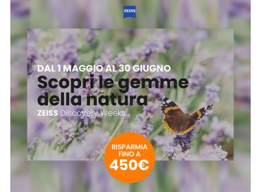 Zeiss Discover Week Maggio-Giugno 2020