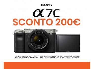 Sony A7C - Sconto 200€