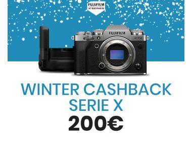 Fujifilm Serie X Winter Cashback