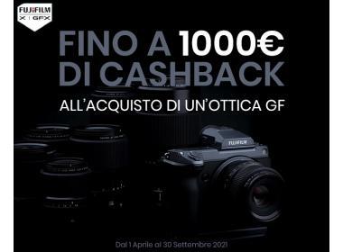 Fujifilm Cashback Obiettivi GF