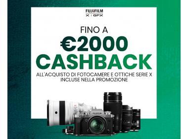 Fujifilm Cashback Serie X Maggio-Giugno-2021