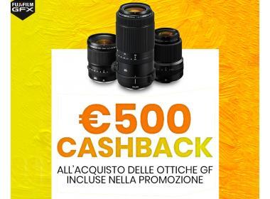 Fujifilm Cashback Ottiche GF Maggio-Giugno 2021