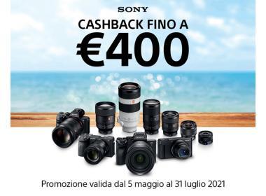 Sony Cashback Summer Edition Maggio-Luglio