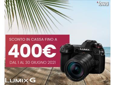 Panasonic Lumix G instant Cashback estate 2021