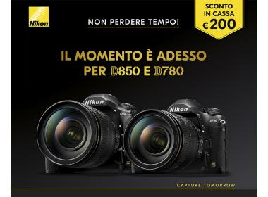 Nikon D850 - D780 Sconto in Cassa