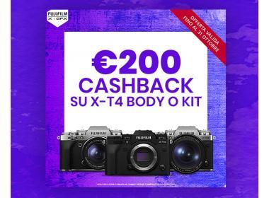 Fujifilm Cashback X-T4